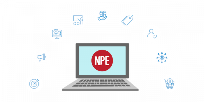 perfect client journey with laptop npe fitness